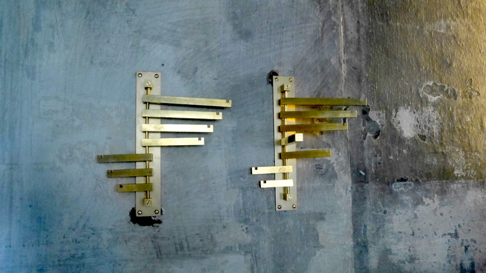 Beton trifft Metall - sehr gelungen!