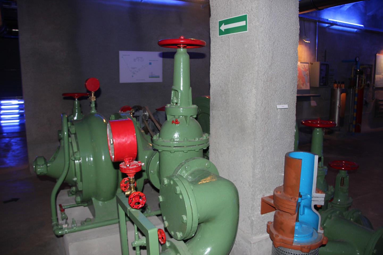 Das Wassermuseum am Mönchsberg