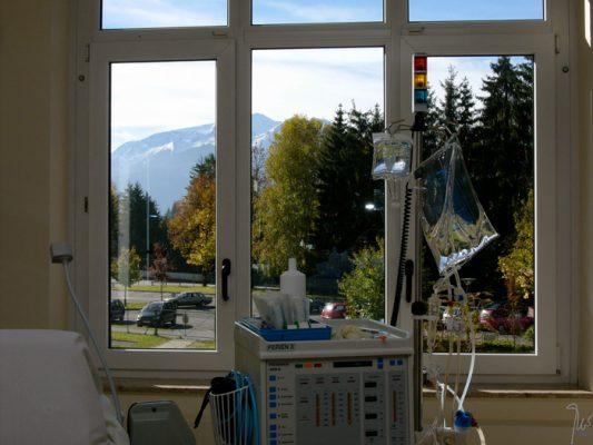 Dialyse mit Aussicht, © Feriendialyse Zell am See