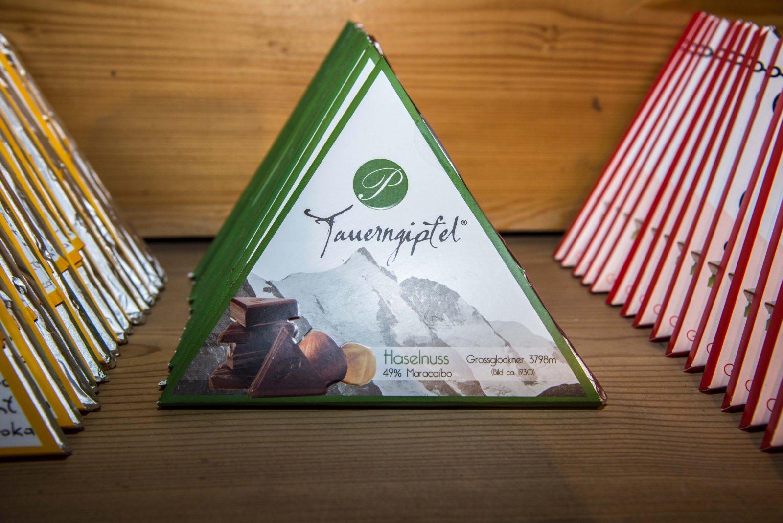 Der Grossglockner - die Lieblingssorte des Chocolatiers