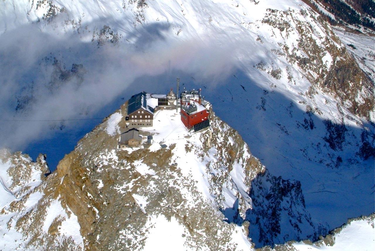 Der Sonnblick mit 3106m ein imposanter Riese