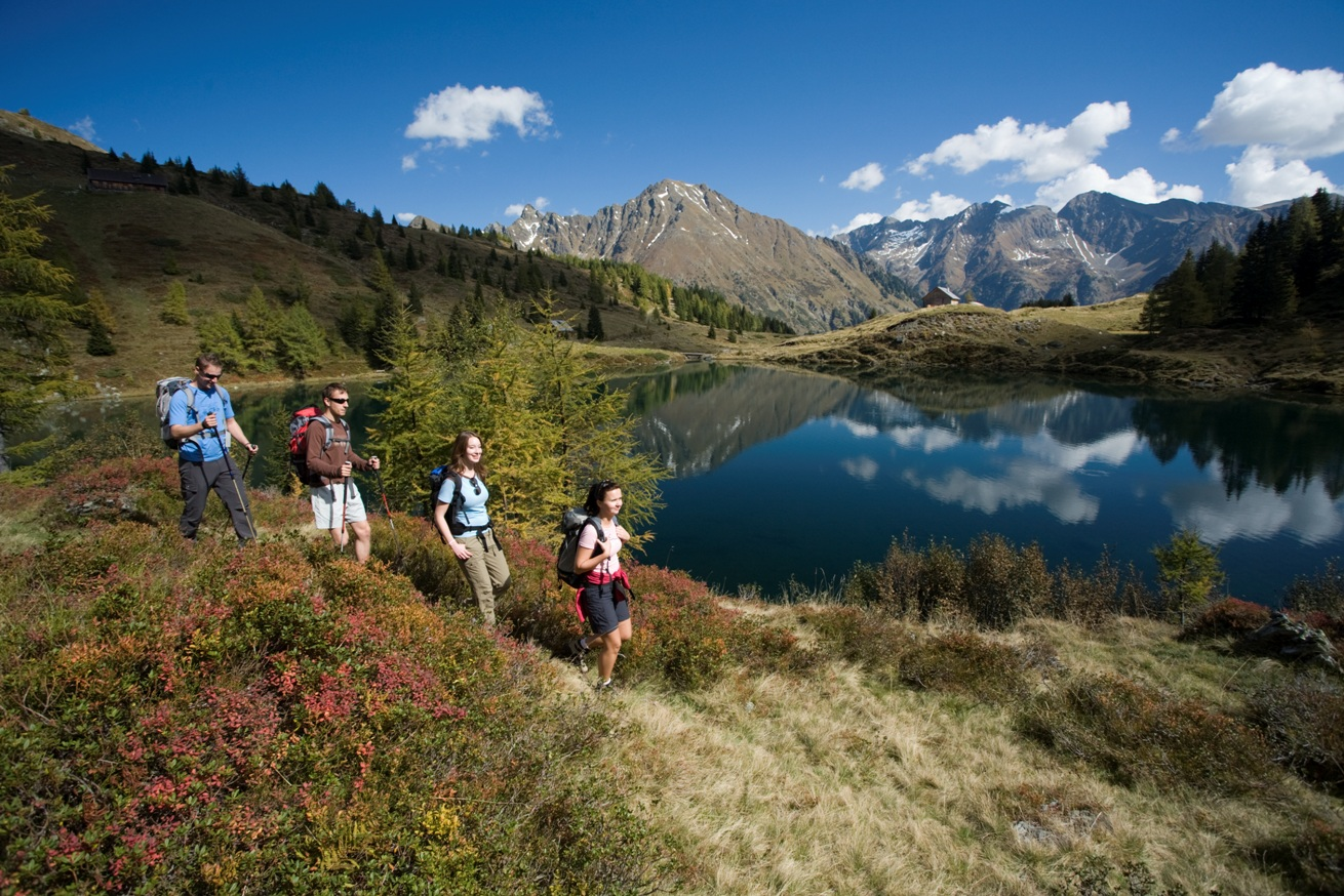 Wirpitschsee im Weisspriachtal in der Ferienregion Lungau