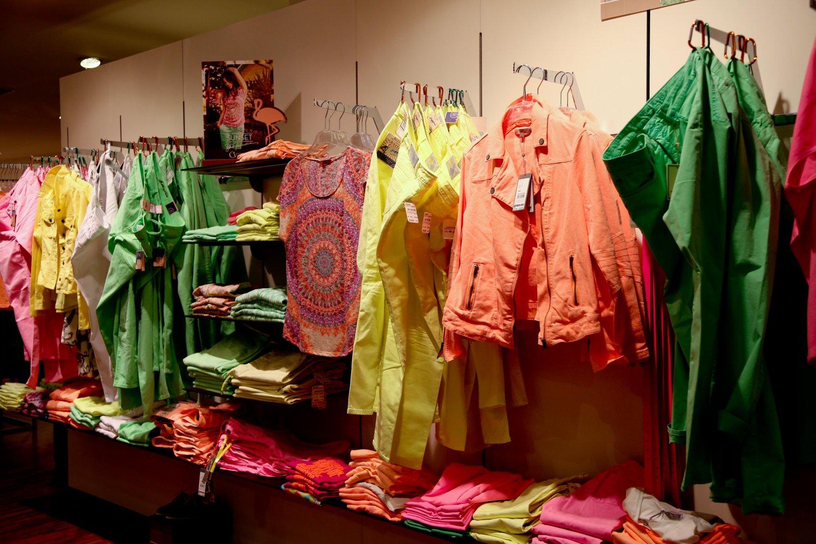 Neon auch für Ladies