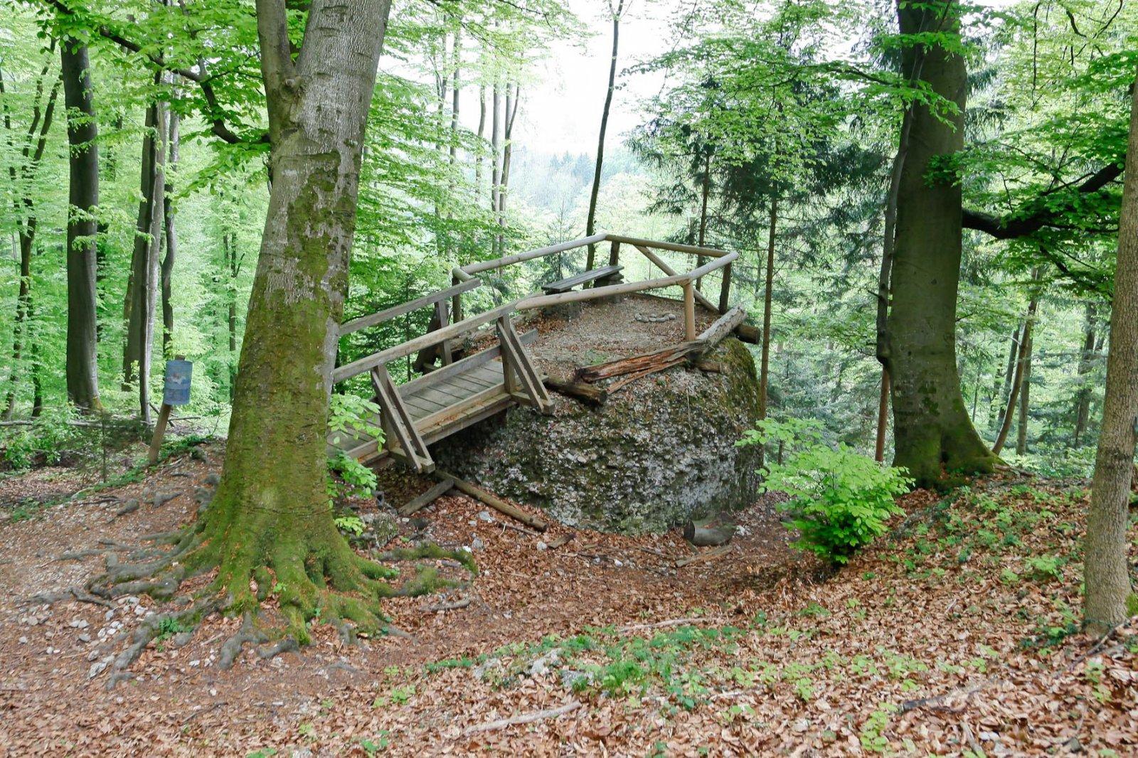 Platz für Rituale oder Jausenpausen
