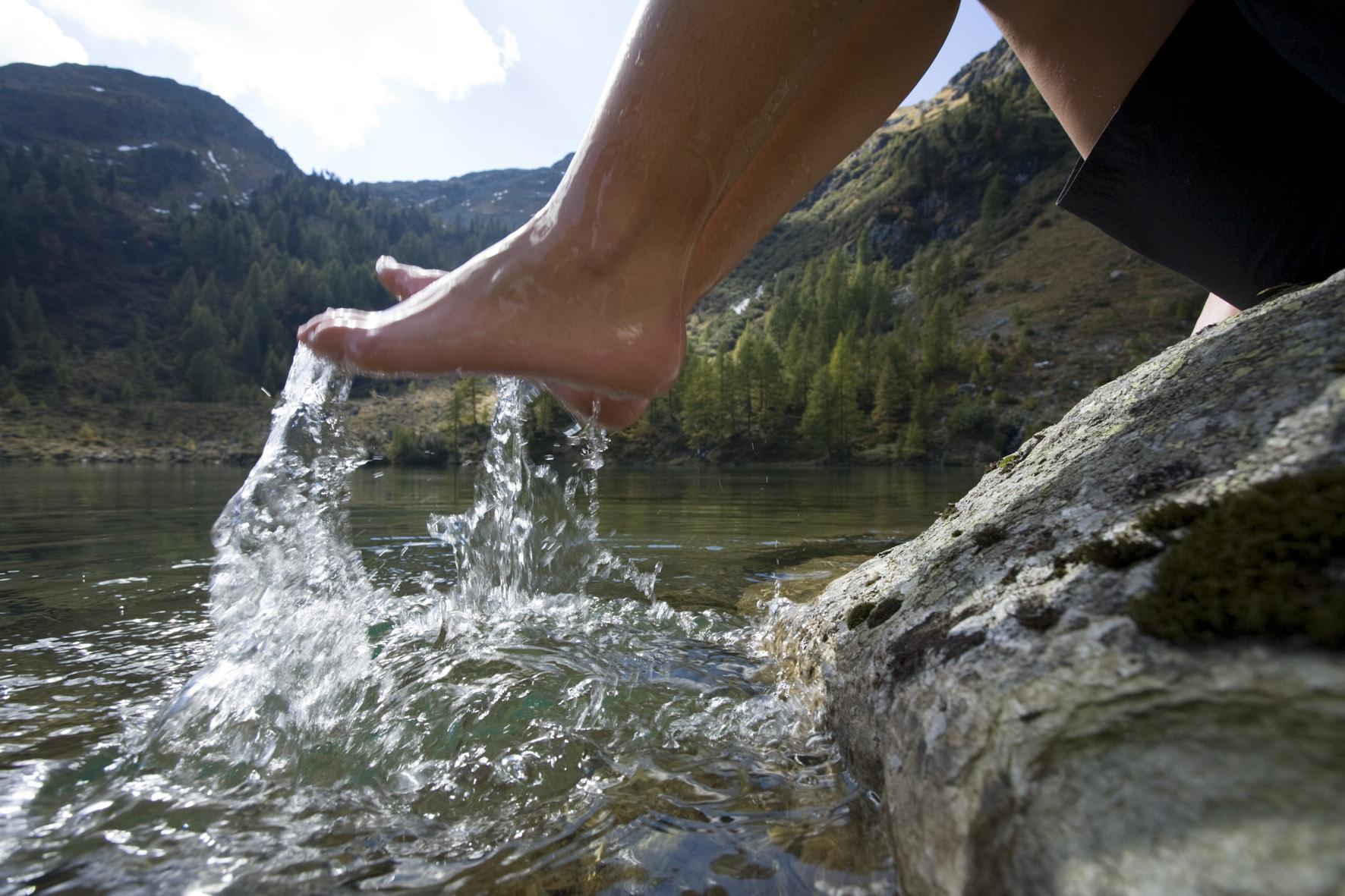 Erfrischung am Wirpitschsee
