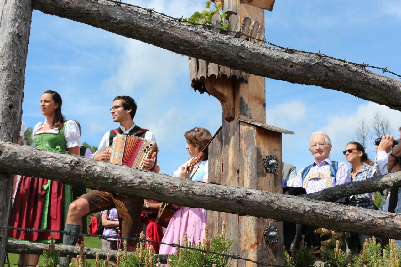 Stadtler Musikanten bei der Bergmesse