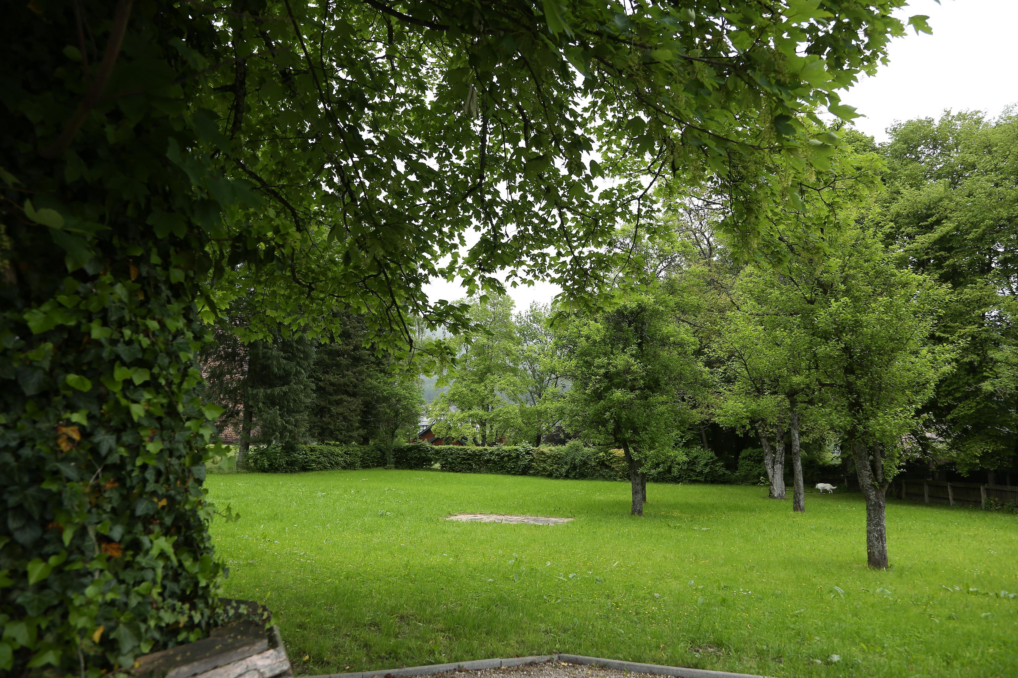 Park beim Mozarthaus