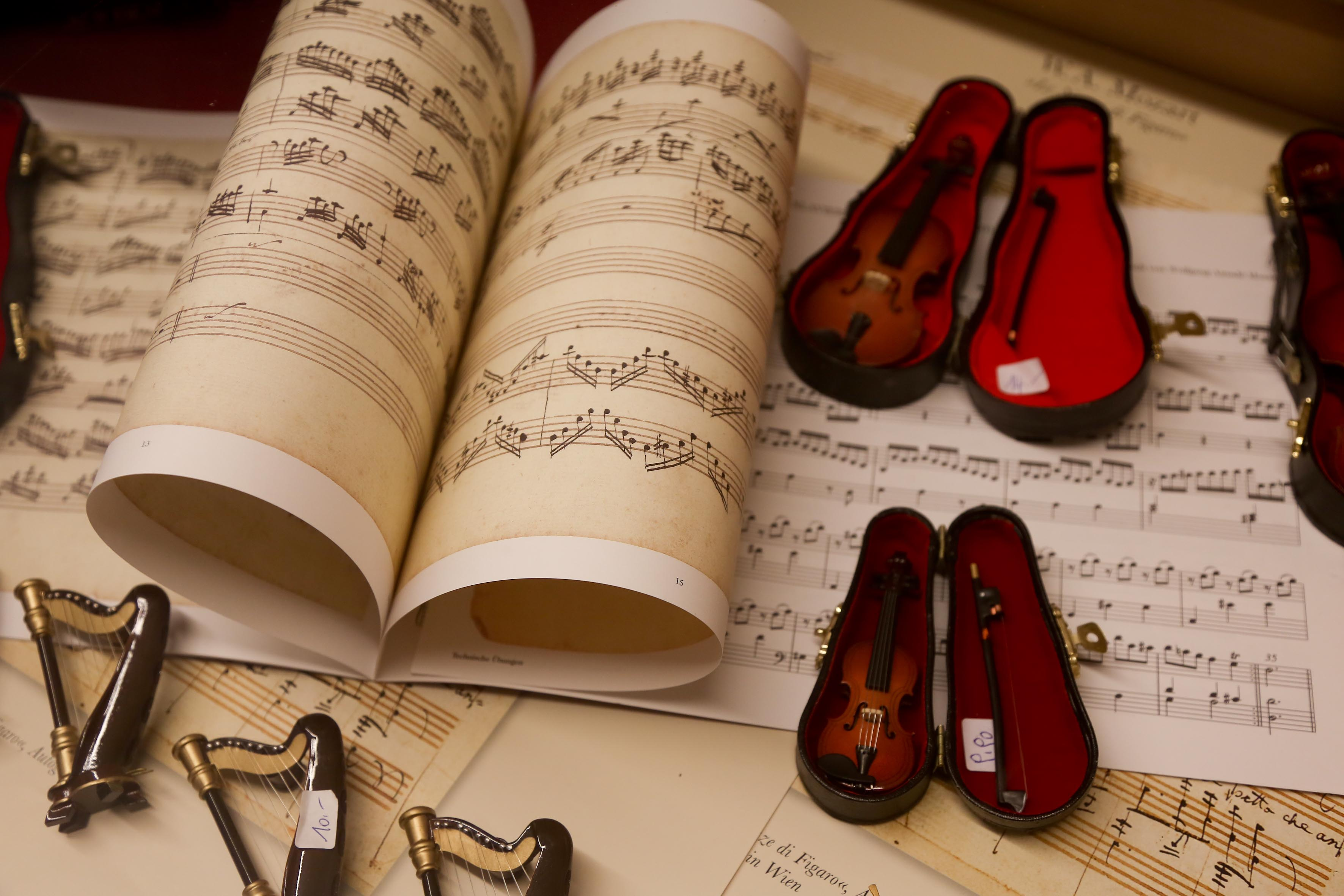 Mozart Kompositionen