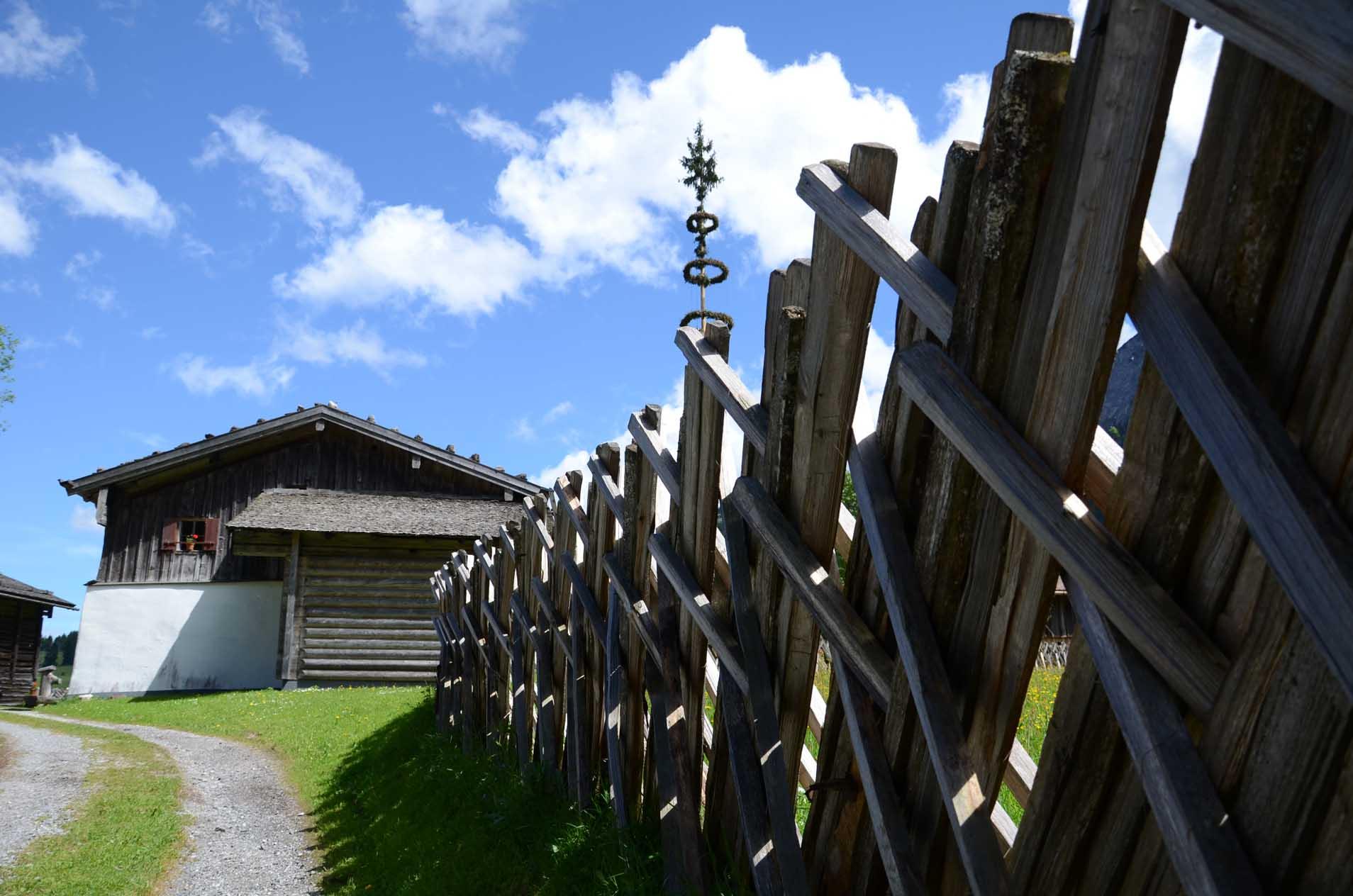 Einfahrt zum Heimatmuseum