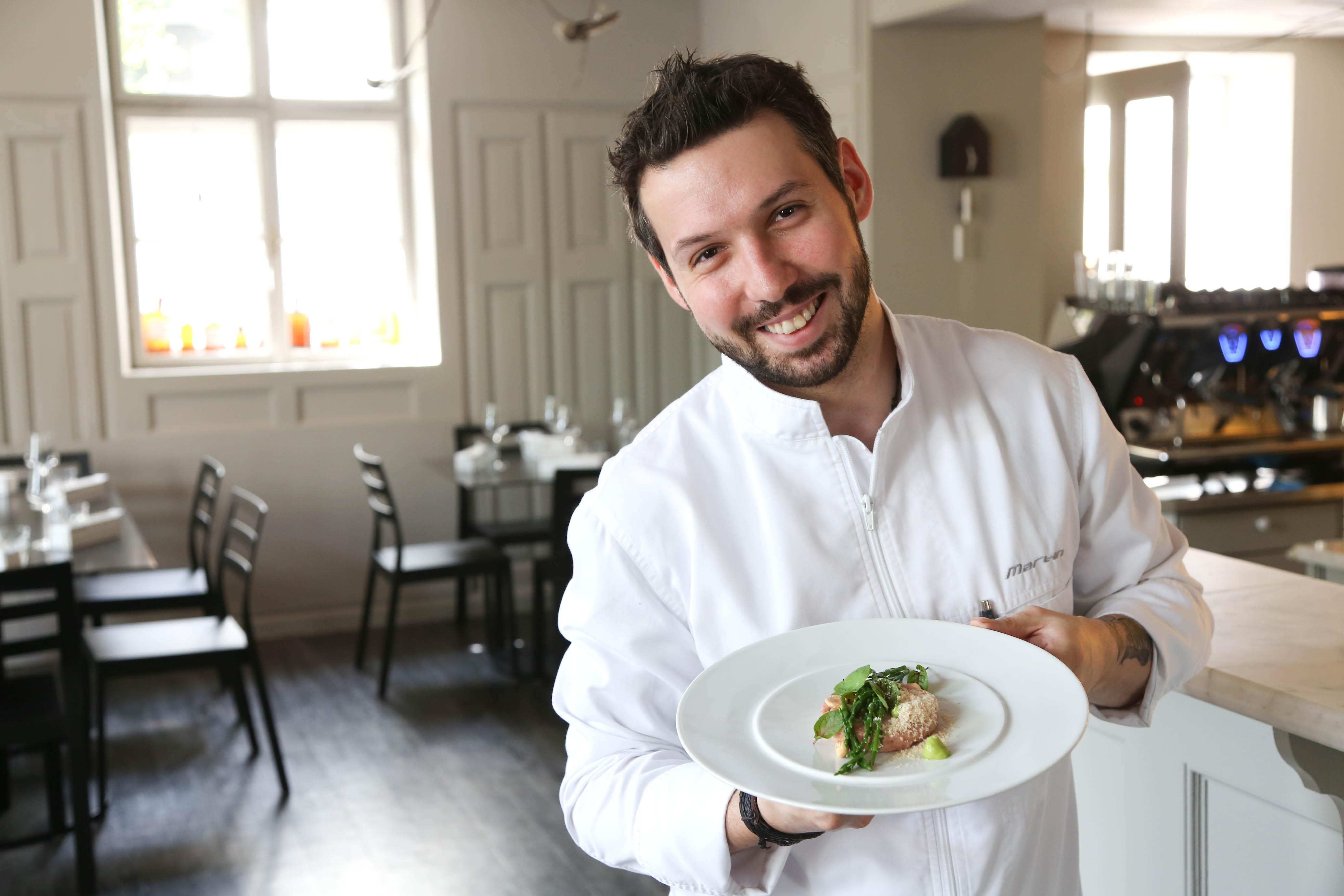 Küchenchef Martin Kilga