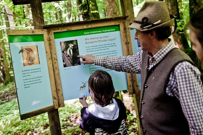 Lehrreiches über die Bewohner des Waldes
