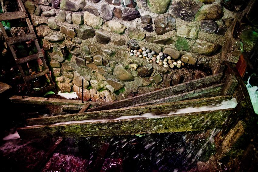 Kugelmühle im Teufelsgraben