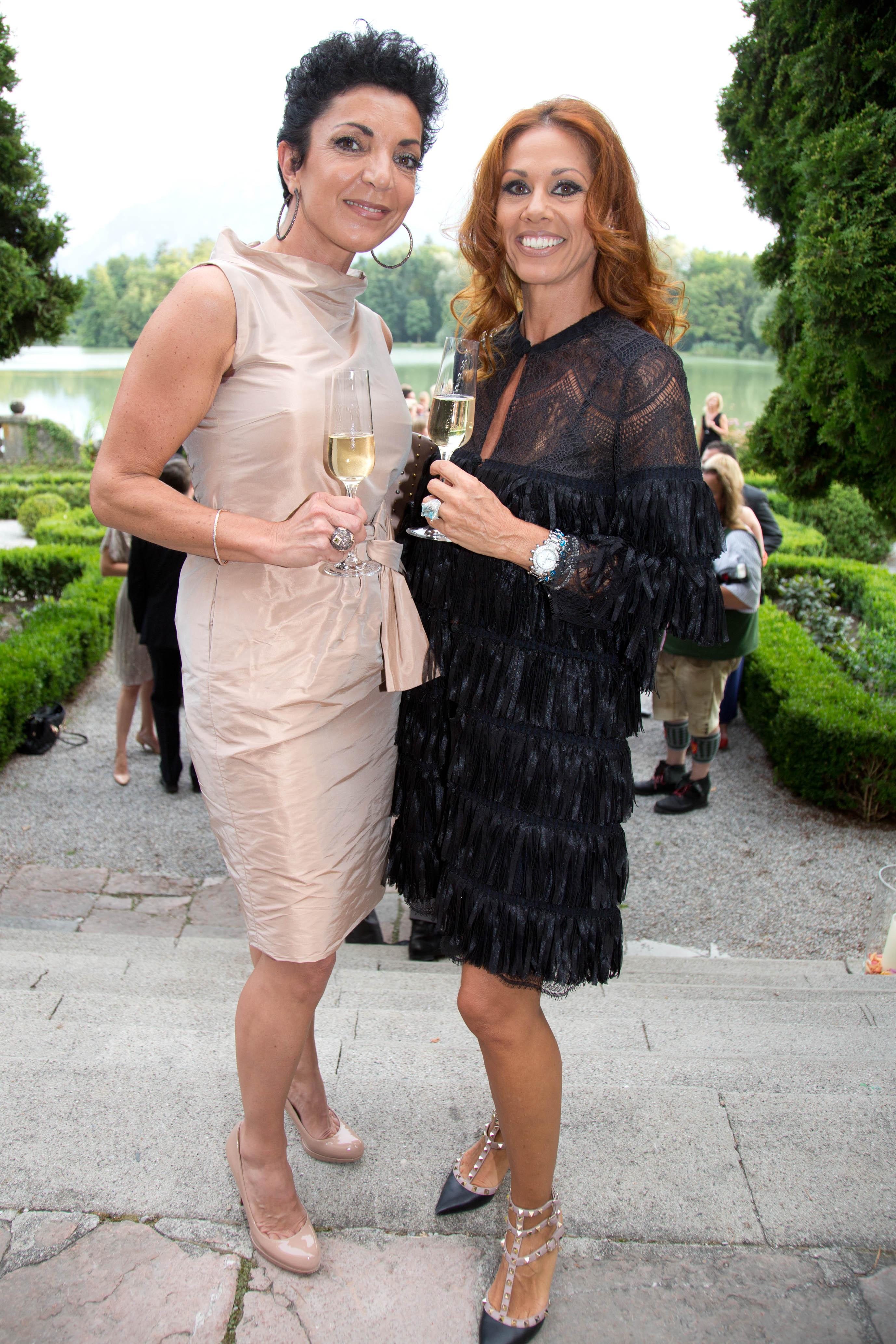 PR Lady Angelika Svoboda und Beautyexpertin Ursula Thurner