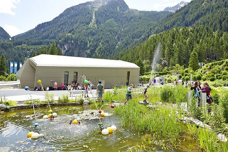 Der Aquaparkt. c Großglockner Hochalpenstraßen