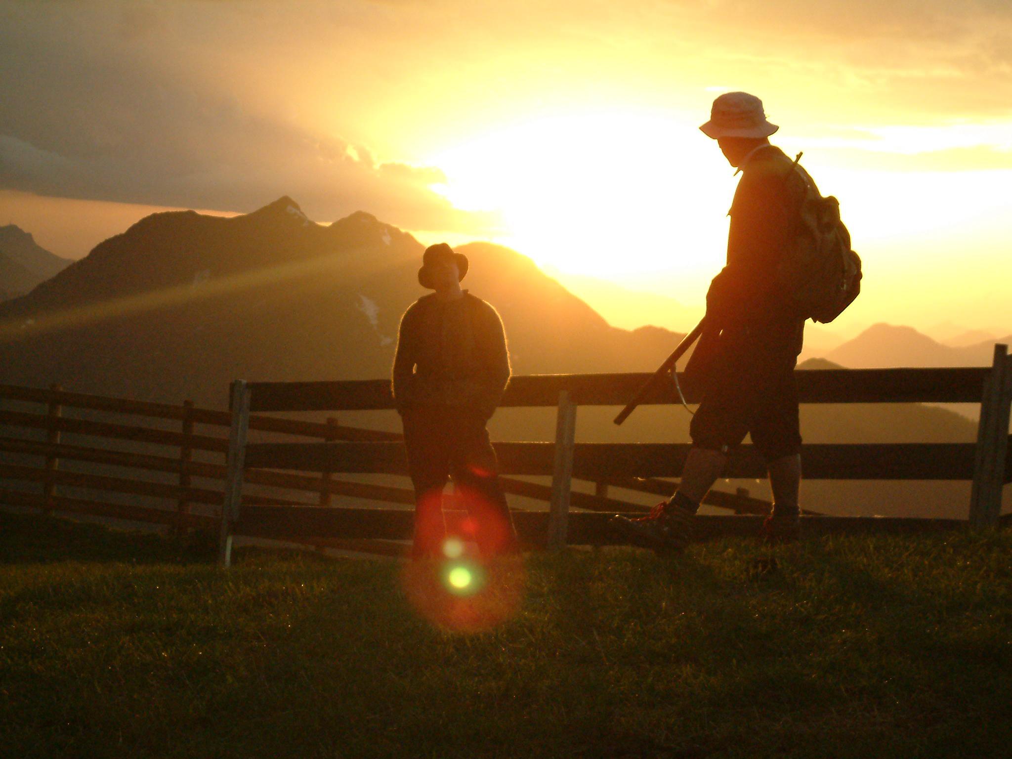 Almenrausch und Edelweiss - wenn der Berg zur BŸühne wird. c Saalfelden Leogang