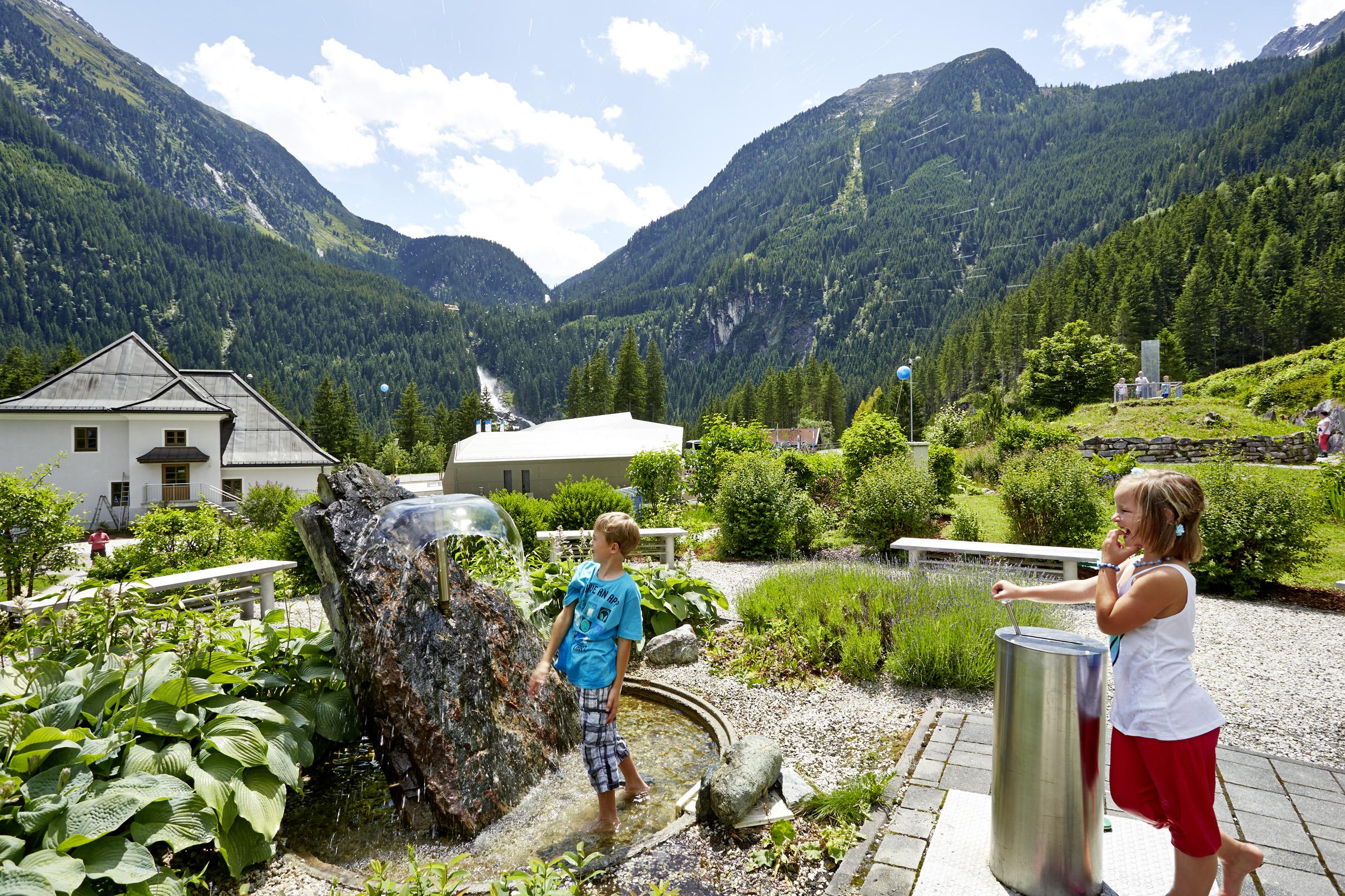 WasserWelten Krimml c Großglockner Hochalpenstraßen