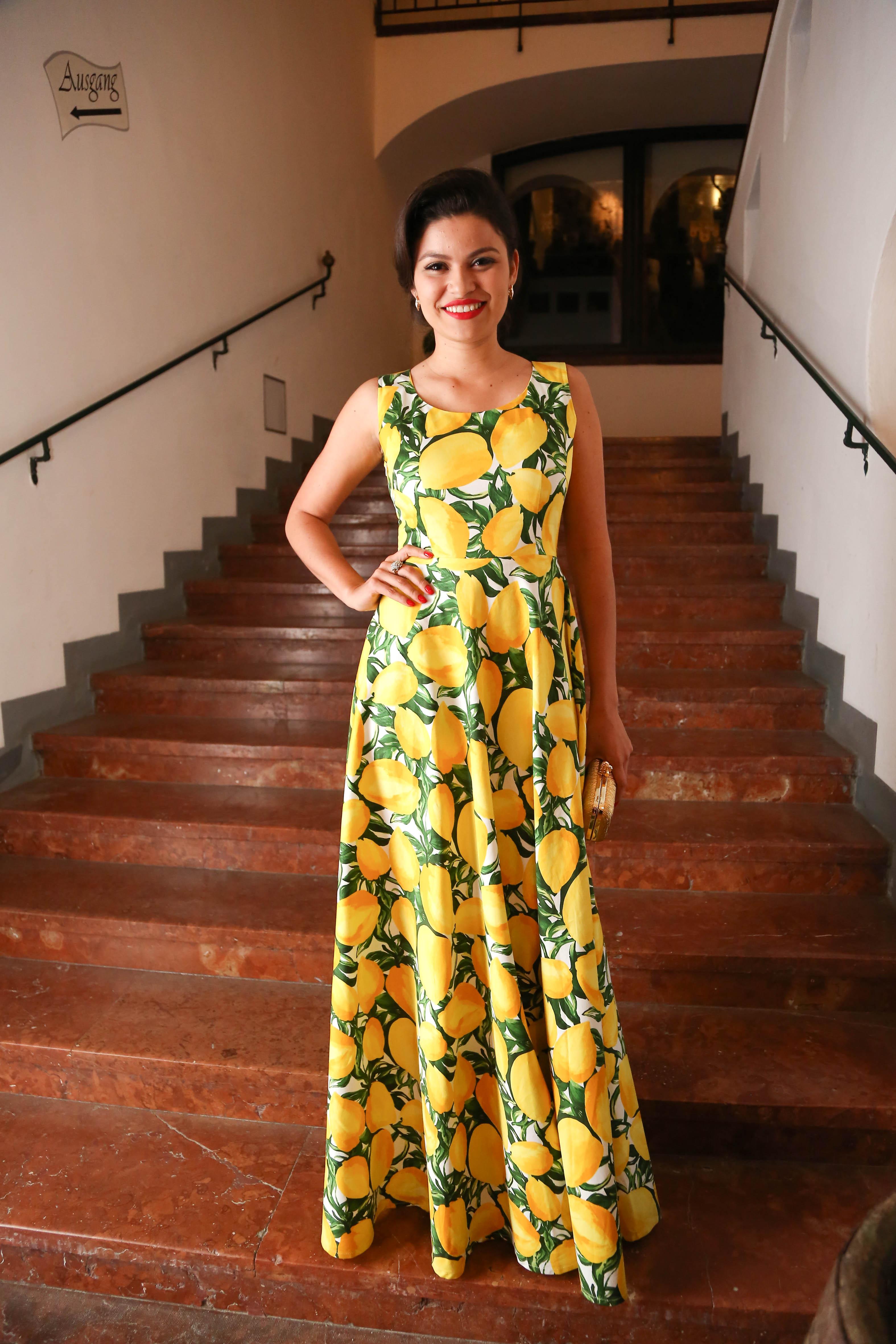 Daniela de Souza in Eigendesign