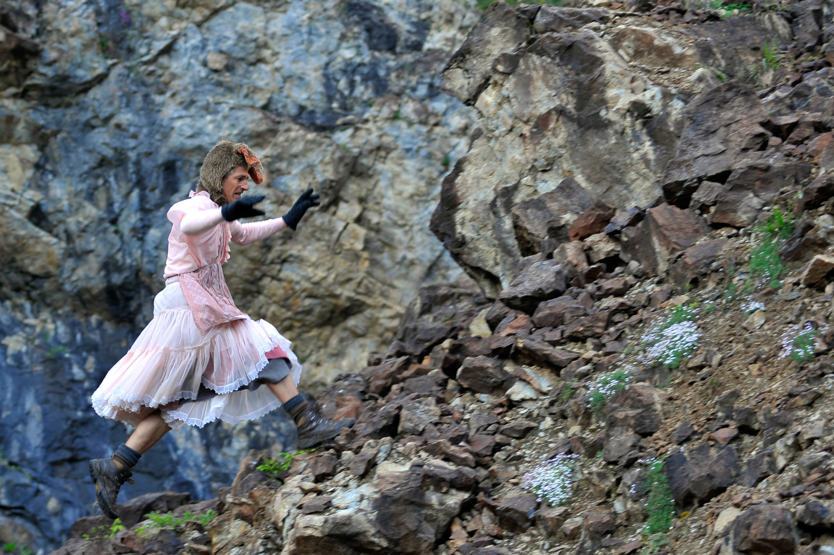 Das SchwarzLeo Bergwerk wird zur Bühne bei Die Eumeniden. c ortszeit
