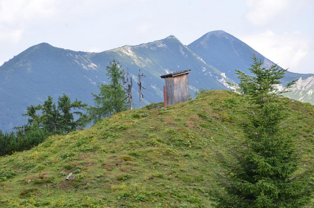 Ausblicke auf die Bergwelt