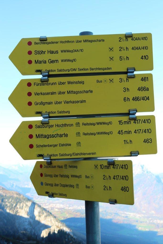 Wandern am Untersberg