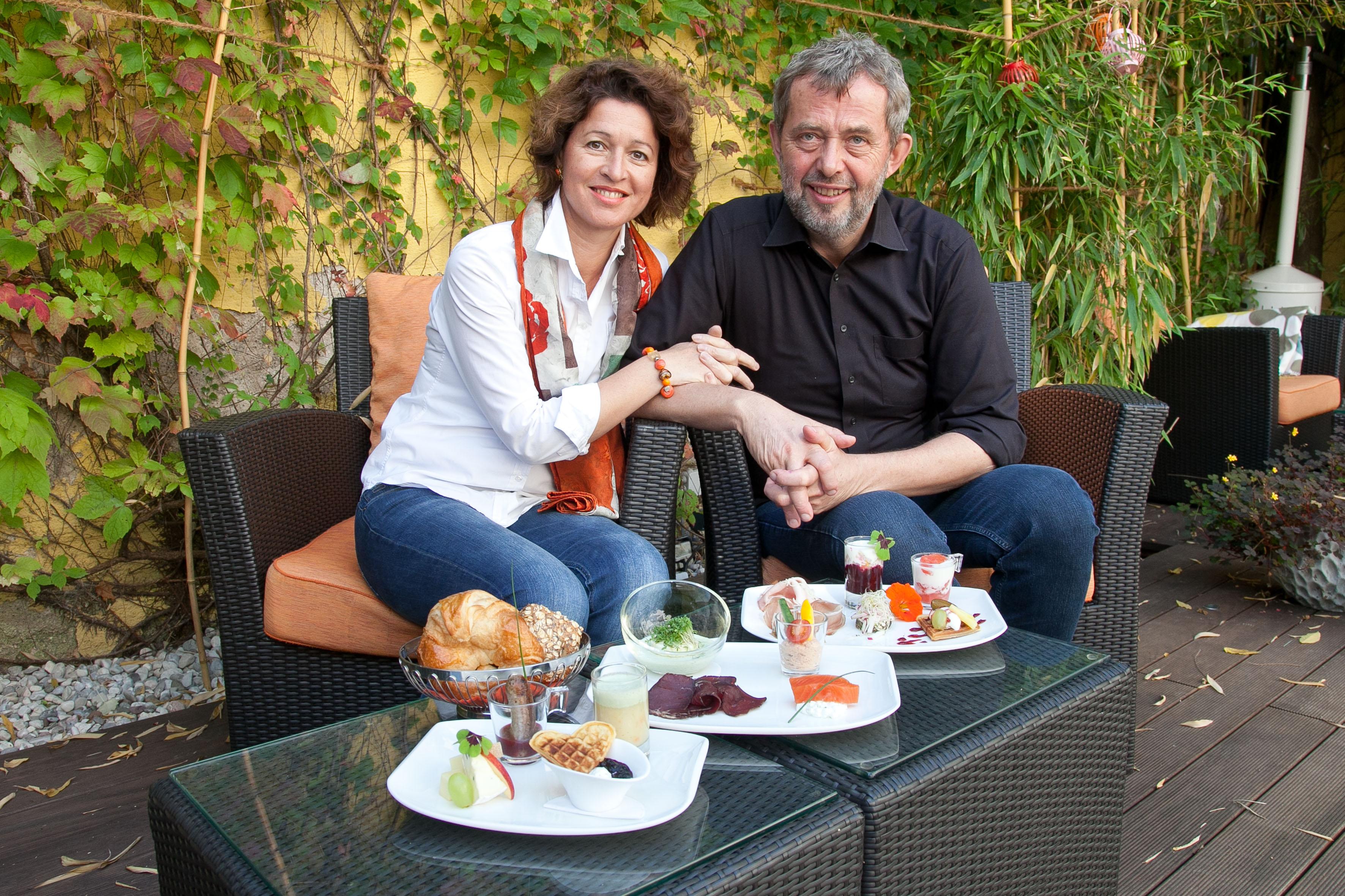 Petra und Klaus Fleischhacker, Gründer Glüxfall
