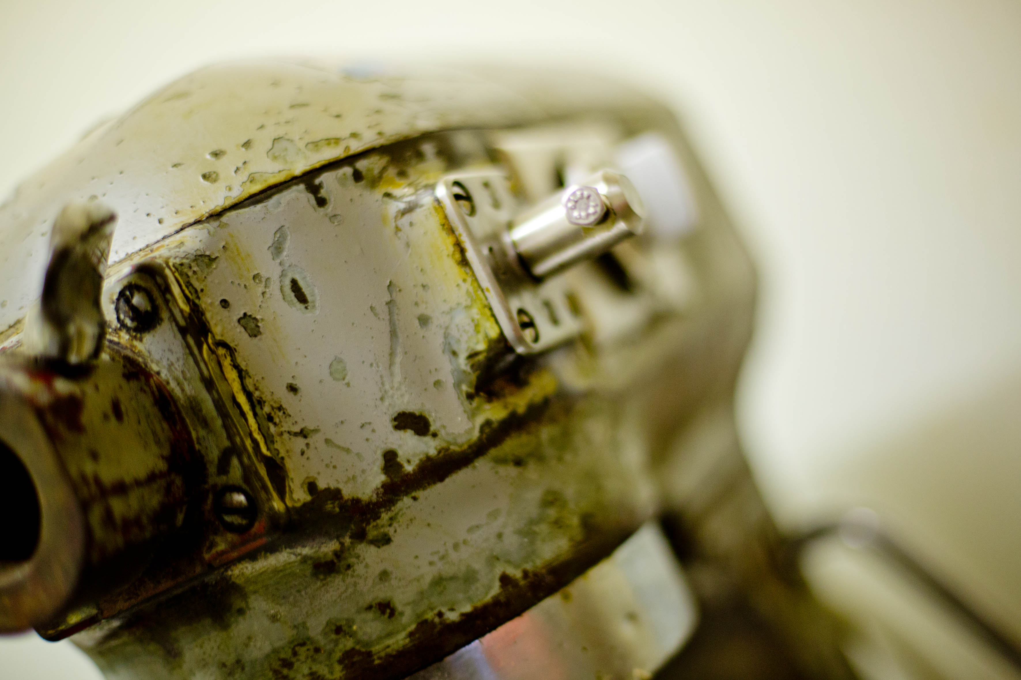 50 Jahre alte Rührmaschine