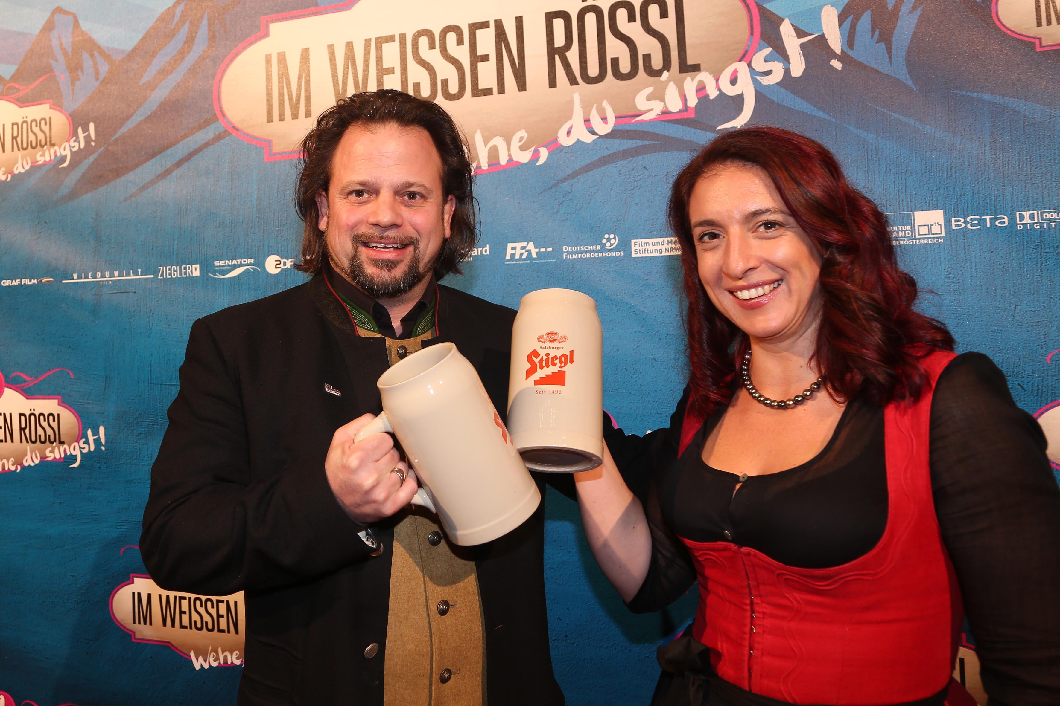 Die originalen Rösslwirte Oliver und Gudrun Trutmann-Peter
