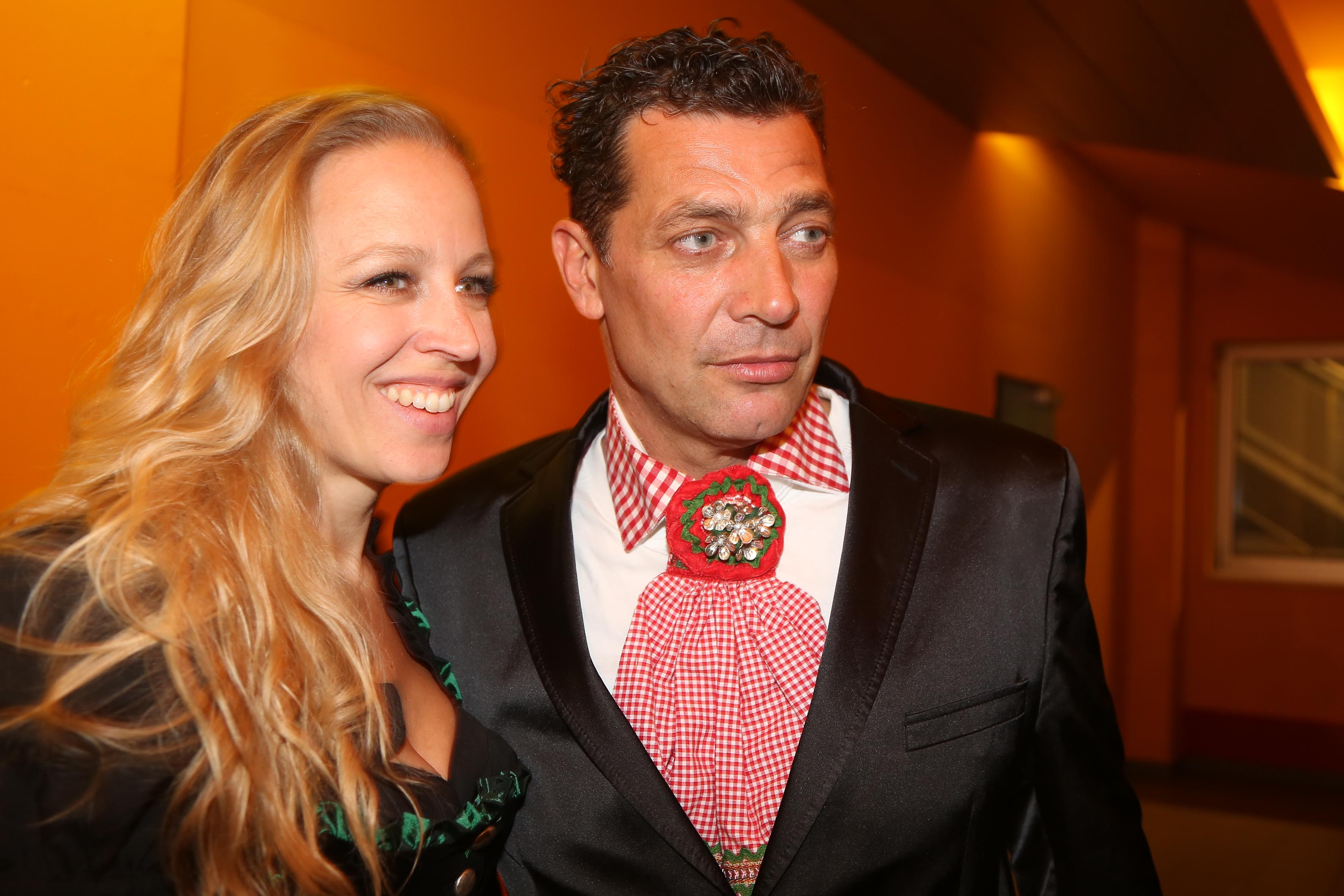 Nina Proll mit ihrem Lebensgefährten Gregor Bloeb