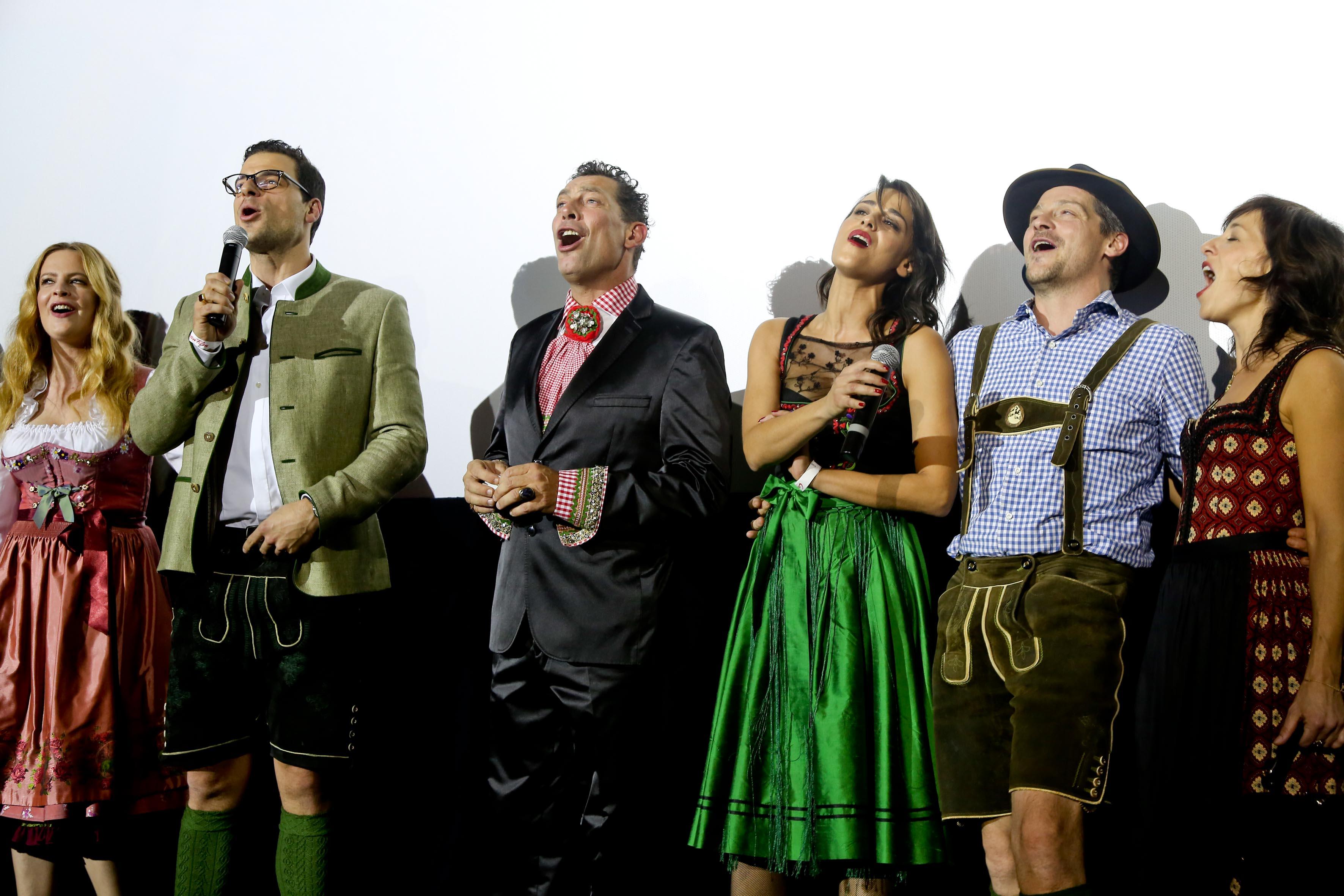 Diana Amft als Ottilie Tobias Licht als Dr. Otto Siedler, Gregor Bloeb als Sigismund Sülzheimer, Edita Malovcic als  Rösslwirtin Josepha, Fritz Karl als Leopold,  Julia  Cencig