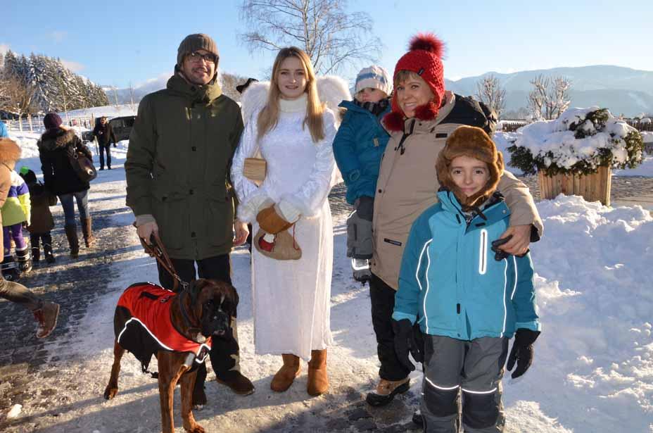 Engerl Melanie und Gäste