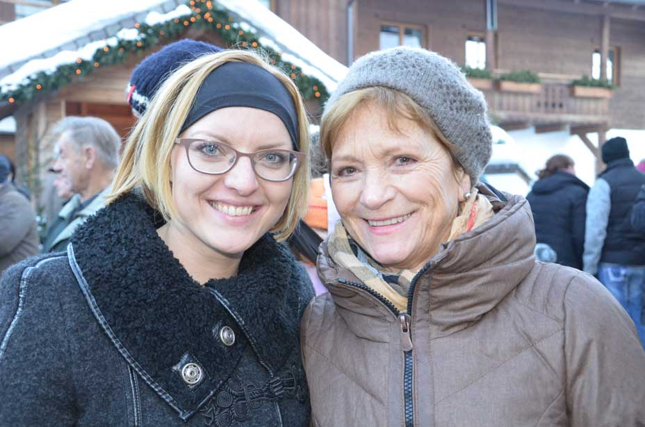 Maria Dygruber und Maria Höll