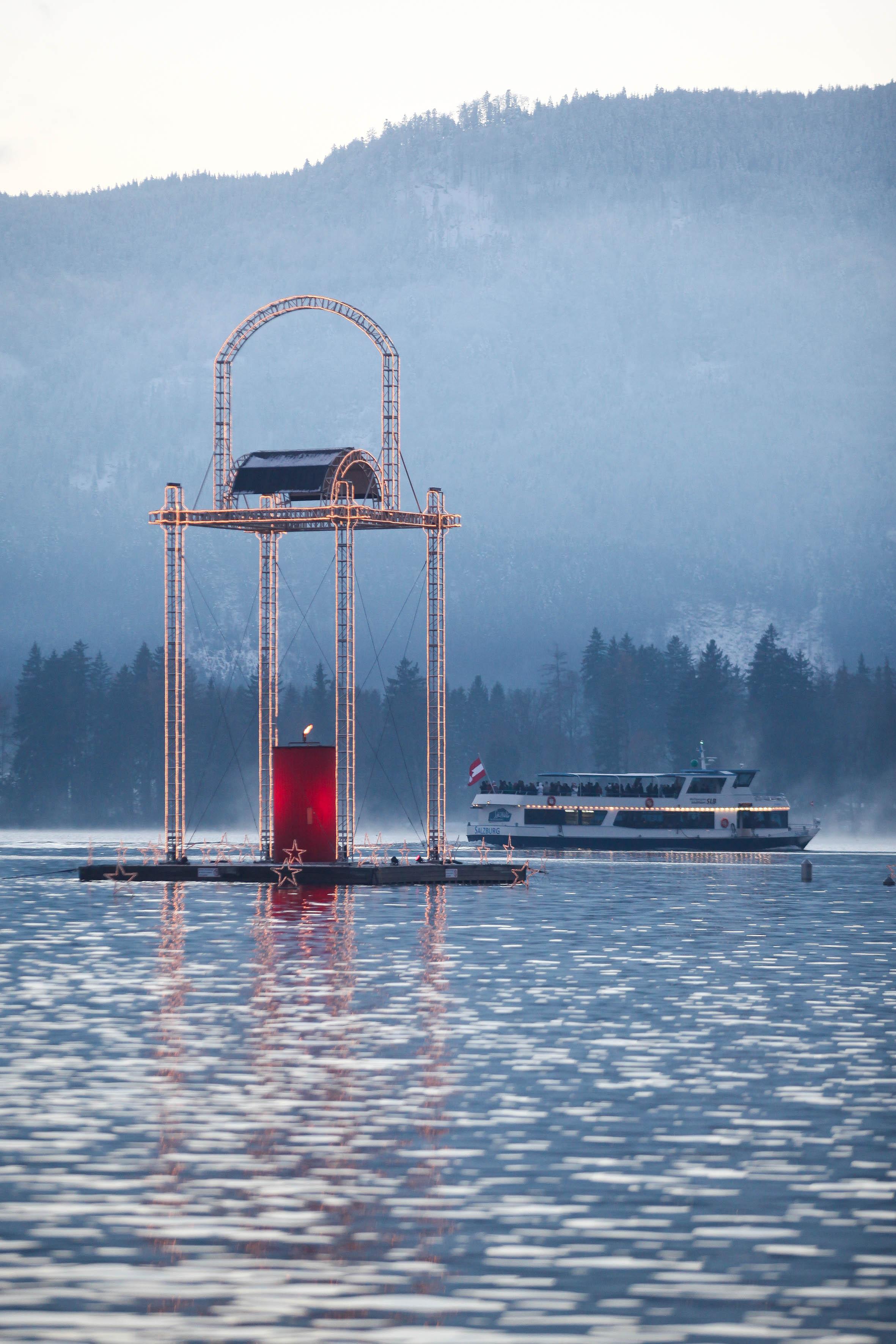 Das Symbol für den Wolfgangseer Advent ist die Kerze.