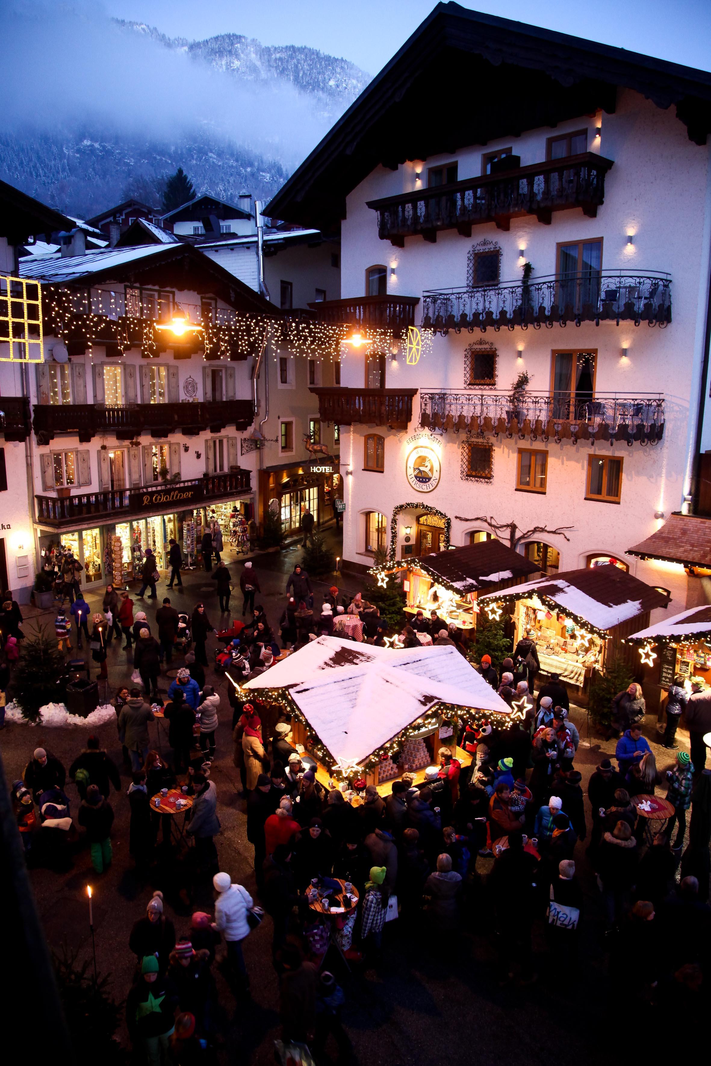 In der Adventszeit ist von Donnerstag bis Sonntag der Markt offen