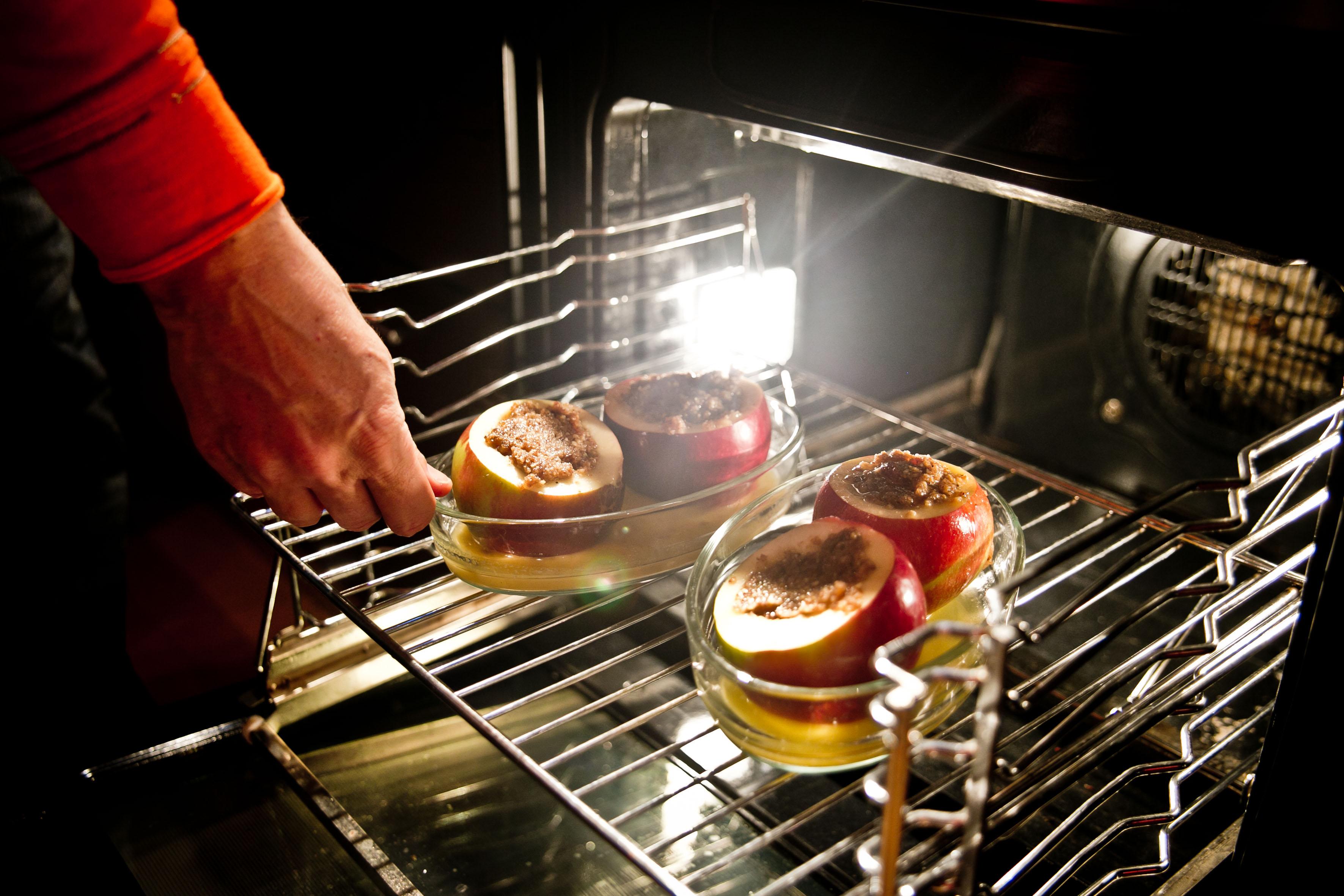 ab damit in den Ofen