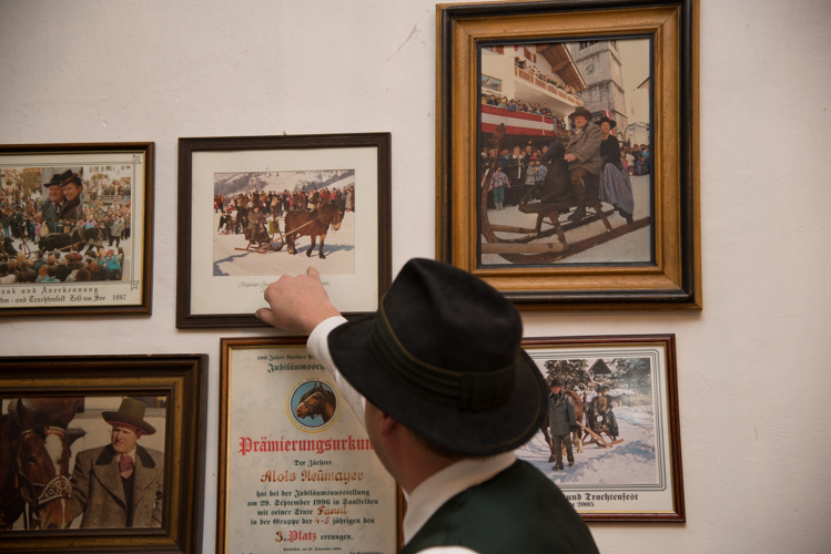 An einigen Veranstaltungen haben die Kammerer mit dem Rössl schon teilgenommen.