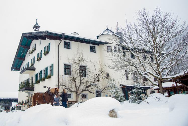 1582 wurde der Landgasthof Schloss Kammer erbaut.