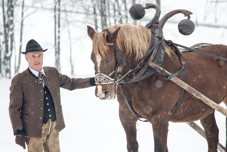 Beni Rainer ist Pferdeexperte und ein Kenner der alten Bräuche.