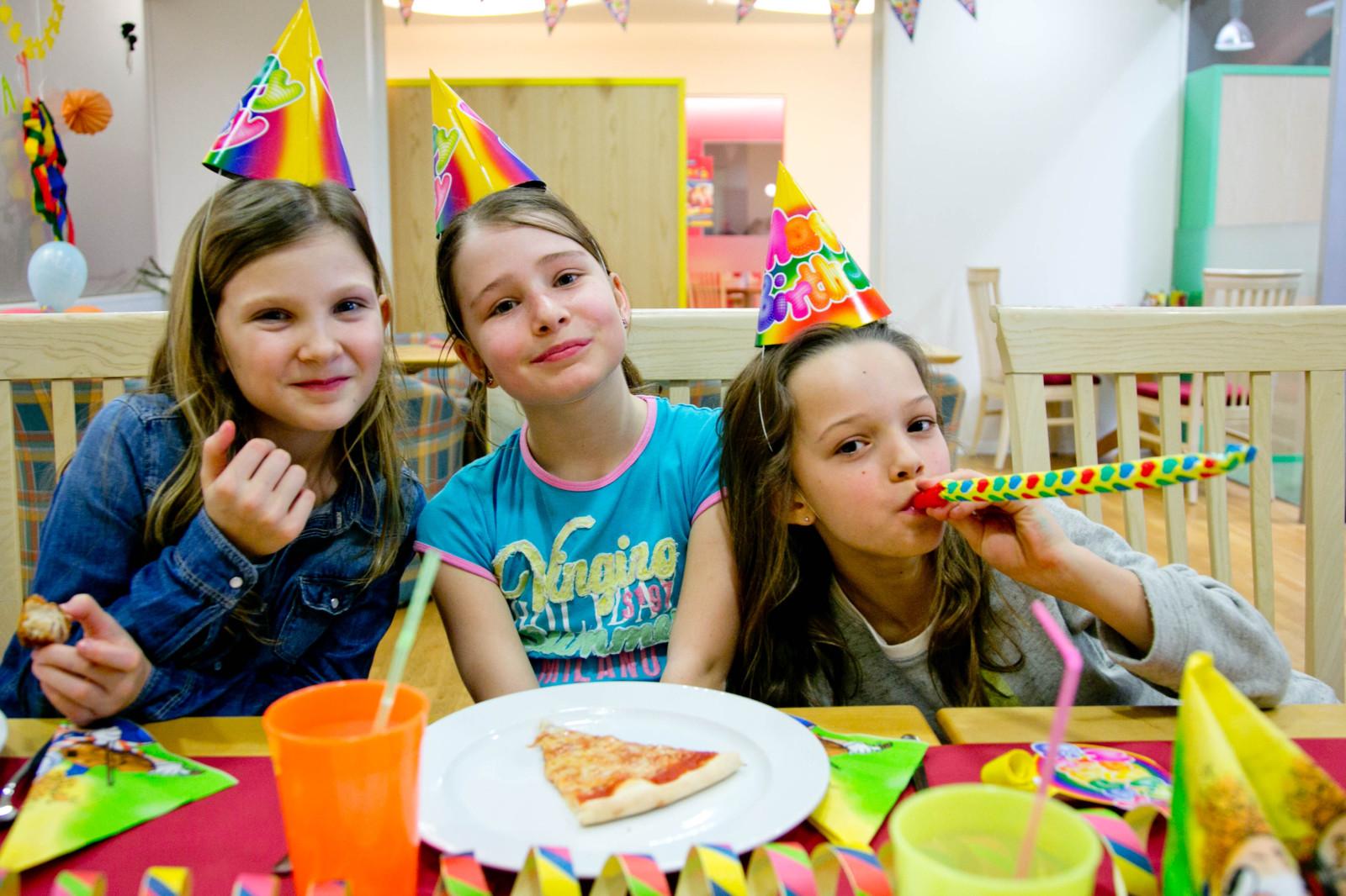 Pizza zum Geburtstag