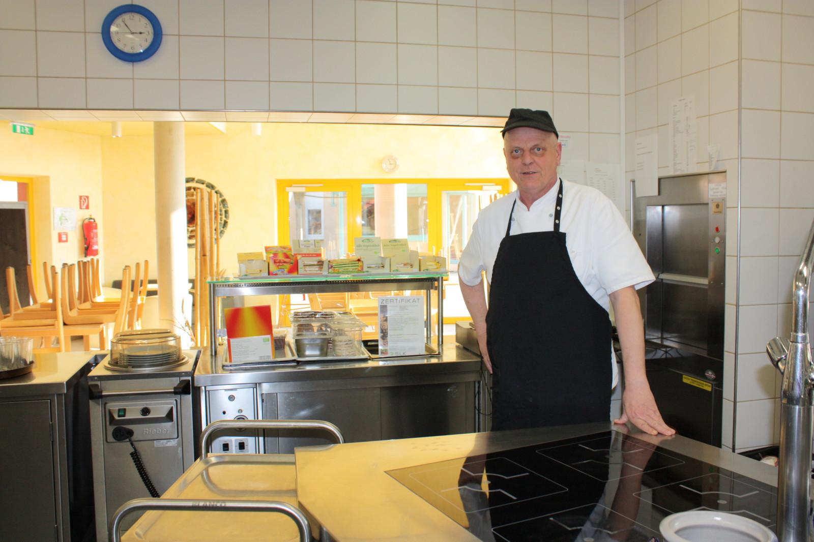 Küchenchef Paul Gerhard...