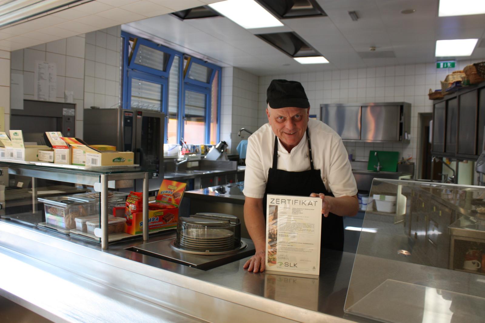 .... ist besonders stolz auf das Bio-Zertifikat der heimischen Gastronomie