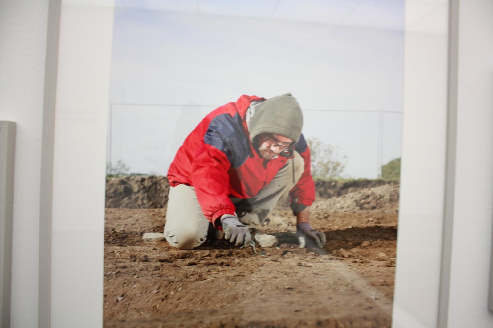 Gräber bei der Arbeit