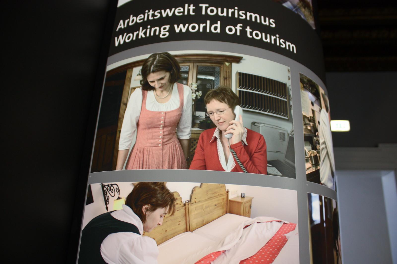 Das Tourismusthema ist ebenfalls wichtig im Museum