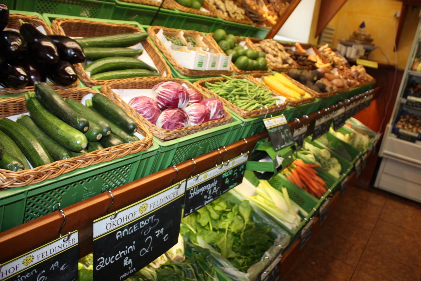 ... und Gemüse.