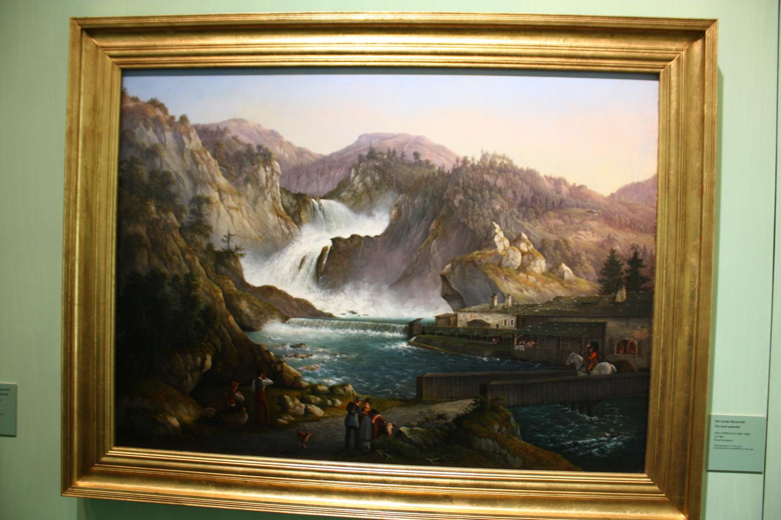 Ein Gemälde der Romantik