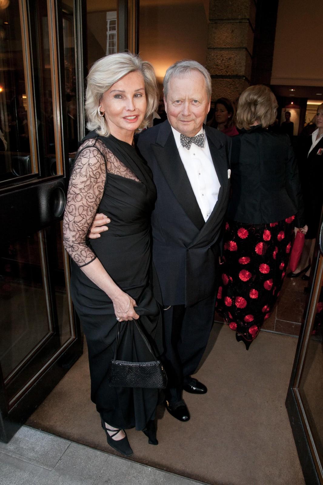 Claudia Hübner und Wolfgang Porsche bei den Osterfestspielen