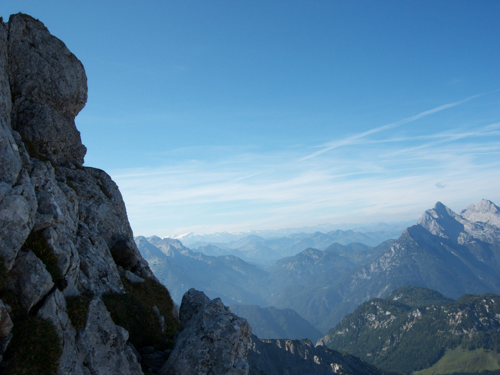 Grandioses Bergpanorama