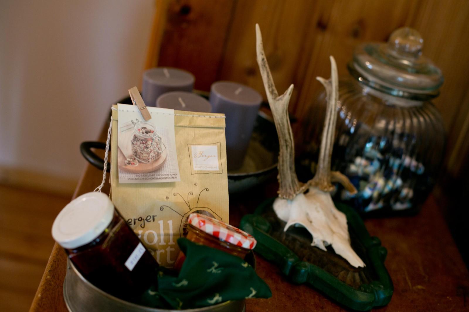 Selbstgemachte Marmeladen für die Gäste