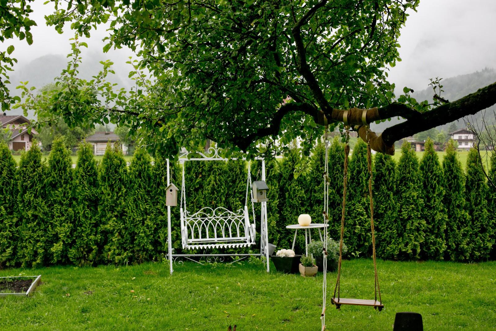 Garten des Jagdhauses
