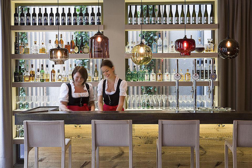 Gemütliche Bar