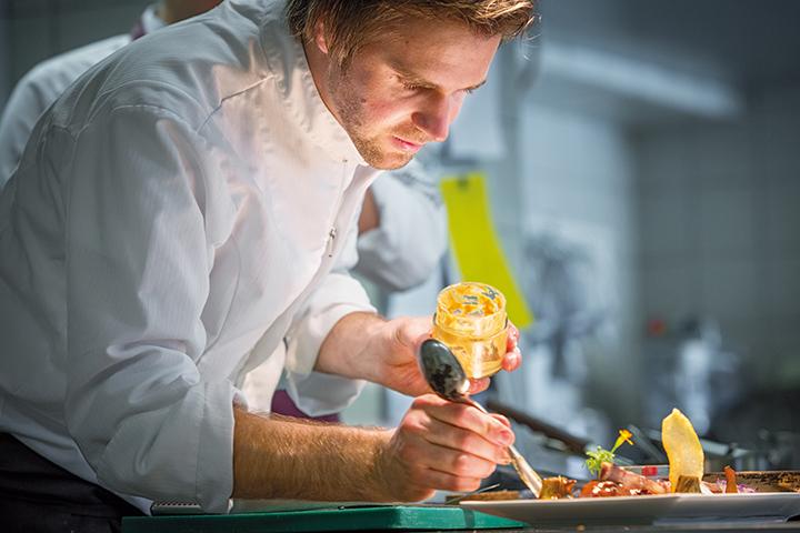Vitus Winkler vom Sonnhof in St. Veit beweist, wie modern regionale Küche sein kann
